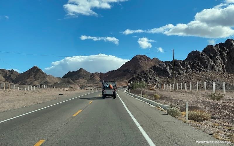 Driving in Baja California