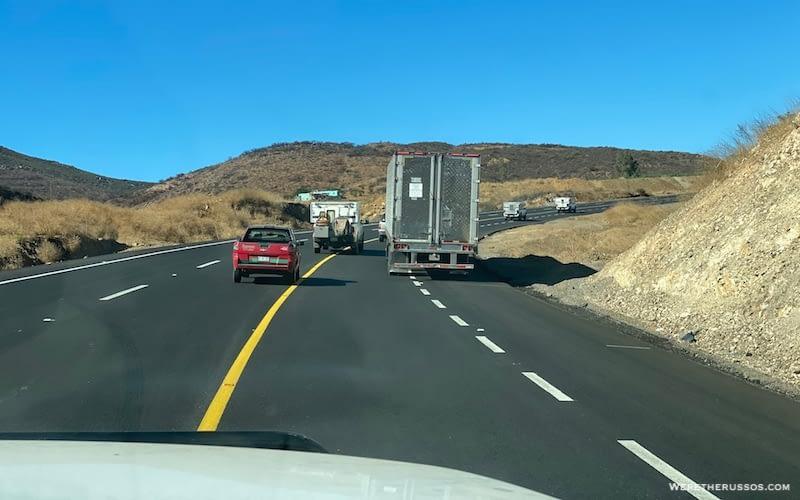 Safety RV Travel in Baja
