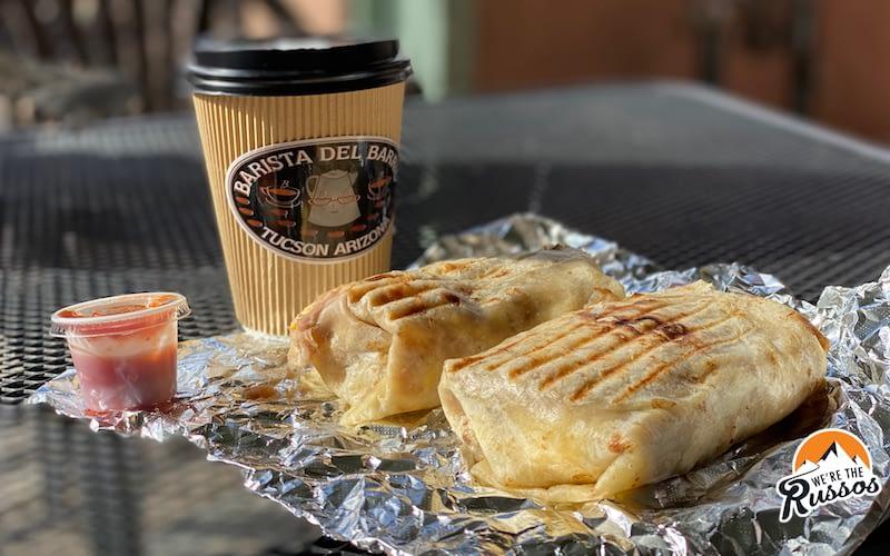 Barista Del Barrio Breakfast Burrito