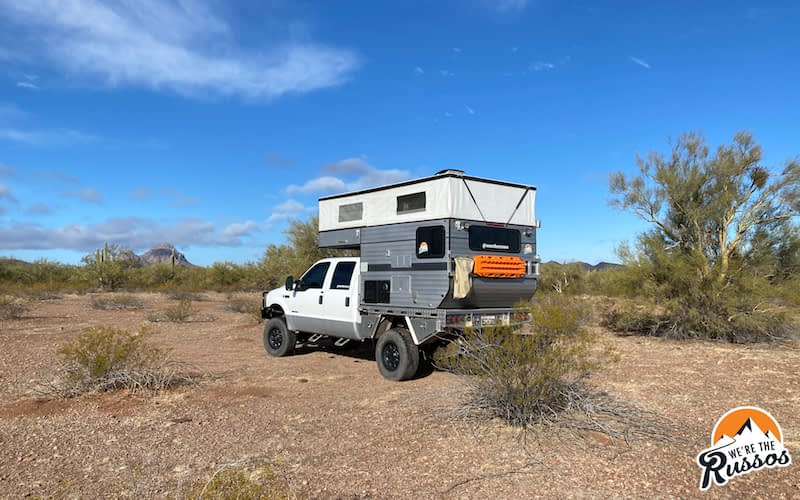Boondocking Tucson Arizona