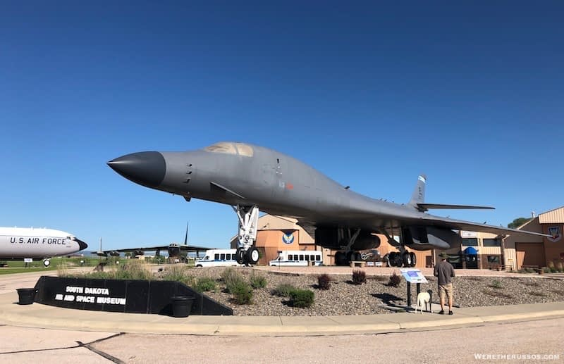 B-1 Outside South Dakota Air and Space Museum