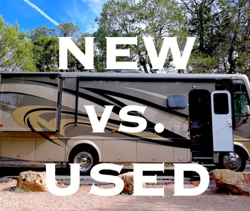 New vs Used RV