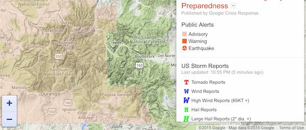 Pagosa Springs, Colorado - Alert