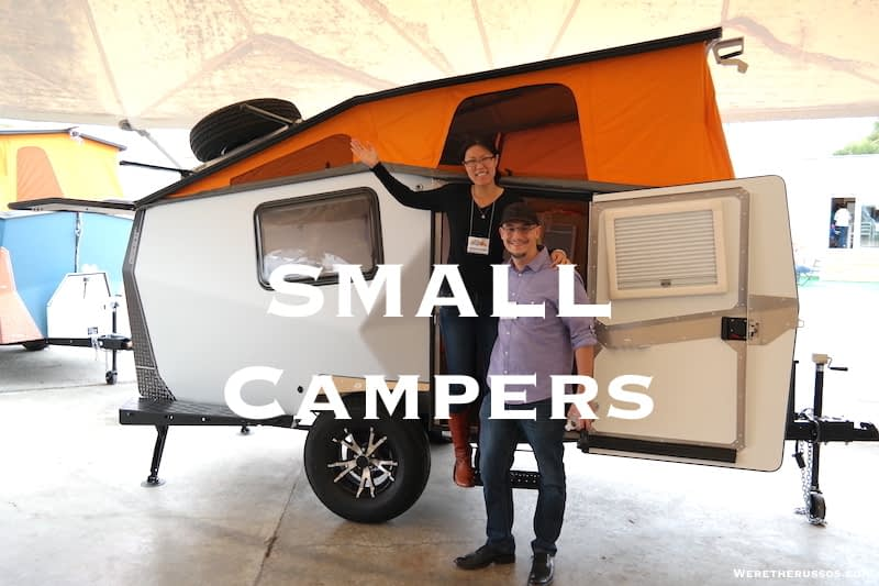 14 Small Travel Trailers & Campers Under 3,500 lbs