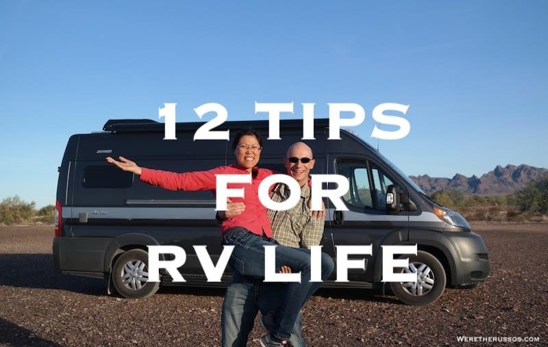 12 RV Living Tips for New and Seasoned RVers