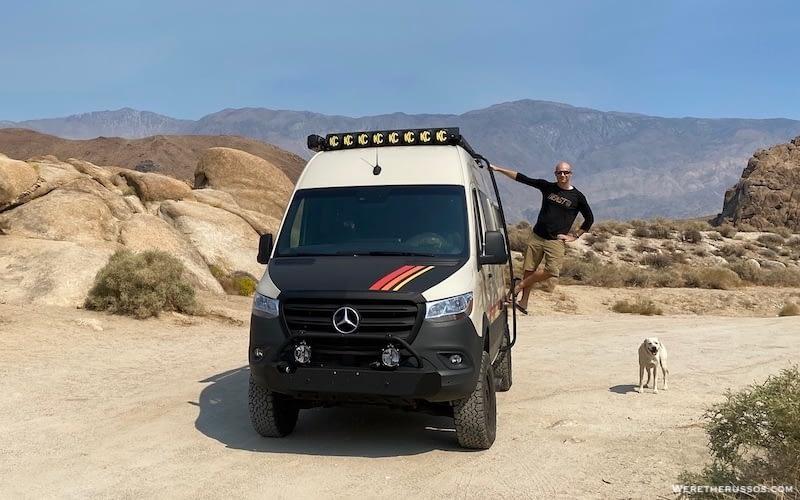 Best Class B RV – Storyteller Overland Mode 4×4 Vans