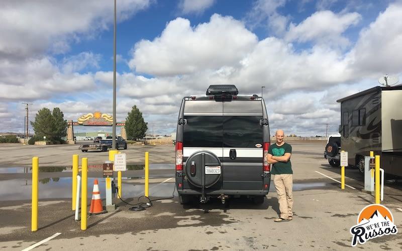 Camping near El Paso texas
